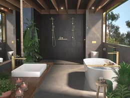 A new standard in sustainable living: Urbane II Bathroom Collection & Liano II tapware from Caroma