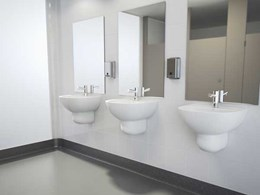 Caroma introduces new Care 500 wall basin to healthcare range