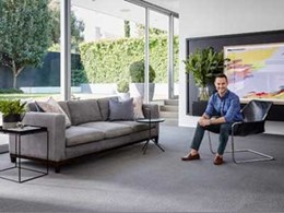 Carpet Court ambassador Darren Palmer expands Provincial Lane flooring range with new timber and carpet collections
