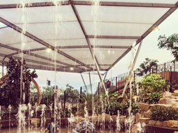 MakMax fabric shade structure features in award-winning Casuarina Square project