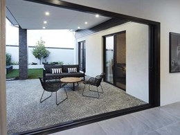 Carinya cavity sliding doors for privacy in open plan living
