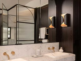 Stunning Xilo black veneer turns bathrooms into hero spaces at Federation style home