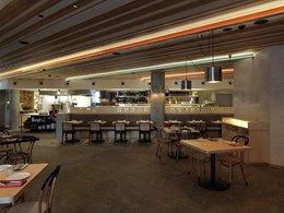 Hebel wall systems ensuring a fine dining experience