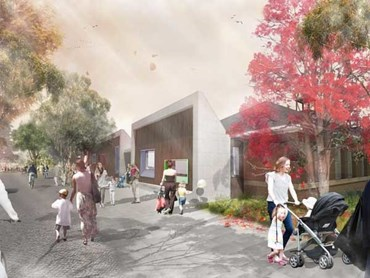 The proposed Green Square Child Care Centre