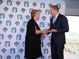 Rockcote's Chris Cameron honoured at 2017 HIA QLD Women in Building awards