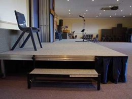 Select Concepts customises complete stage system solution for Mid North Christian College