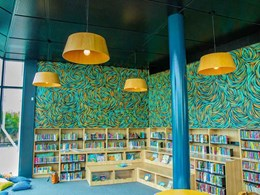 Key-Lena perforated MDF ceilings help create inspiring community space