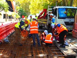 Sydney trials world-first concrete road made from industrial waste