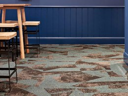 Modular carpet harmonises with different spaces at Sydney club