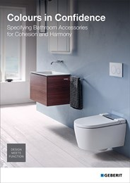 Colours in confidence: Specifying bathroom accessories for cohesion and harmony
