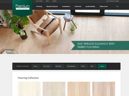 Premium Floors introduces new specifiers website for the projects market