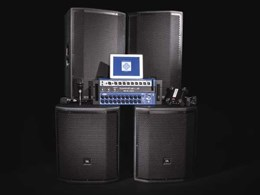 HARMAN's new integrated PA system ensures professional sound for musicians