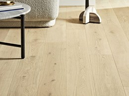 Corsica Oak engineered timber flooring with a real European Oak surface
