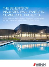 The benefits of insulated wall panels in commercial projects:  Performance, Passivhaus Design and compliance with the National Construction Code 2019