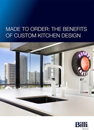 Made to order: The benefits of custom kitchen design