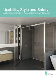 Usability, style and safety: A specifier's guide to accessible shower screens