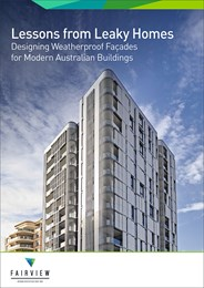 Lessons from leaky homes: Designing weatherproof facades for modern Australian buildings