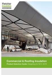 Product selection guide for commercial & roofing insulation