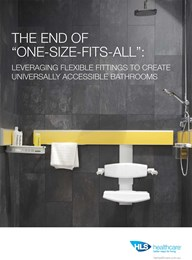 The end of 'One-size-fits-all': Leveraging flexible fittings to create universally accessible bathrooms