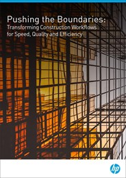 Pushing the boundaries: Transforming construction workflows for speed, quality and efficiency