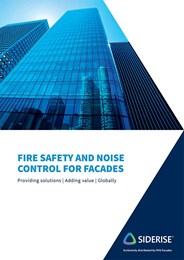 Solutions for fire safety and noise control for facades