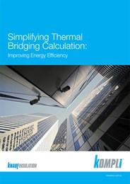 Simplifying thermal bridging calculation: Improving energy efficiency