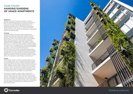 Capitalise on green urban spaces and boost privacy with Tensile green facades