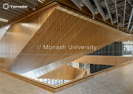 Creating innovative learning ecosystems with Tensile lightweight wire balustrades