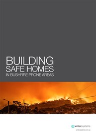 Building safe homes in bushfire prone areas