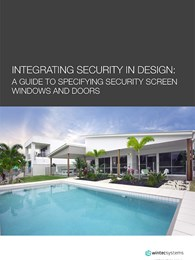 Integrating security in design: A guide to specifying security screen windows and doors