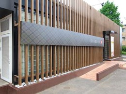 Covet's Takasho's timber look aluminium screens and cladding