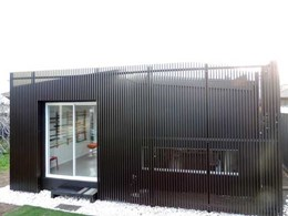 Japanese batten cladding used in new Covet showroom, now open for business