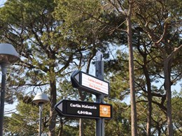 iGirouette digital signposts point the way at Curtin University's smart campus