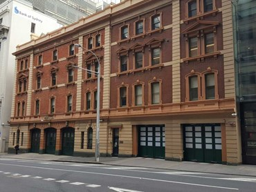 Efaflex high speed doors were installed at Sydney City fire station