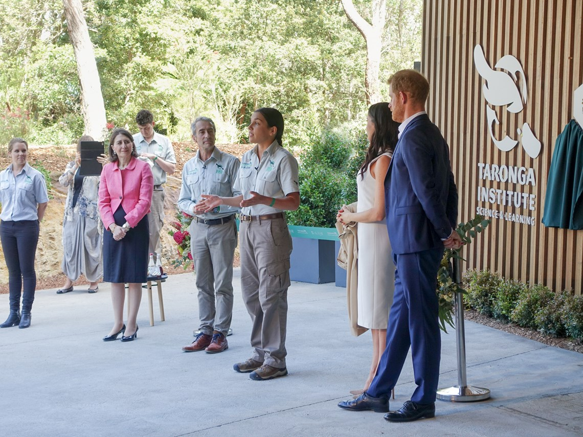 Royal visitors officially open Taronga Institute of Science and Learning