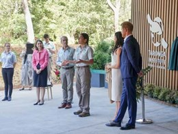 NBRS-designed Taronga Zoo institute opened by the Duke and Duchess of Sussex