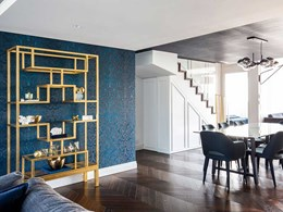 Havwoods floor adds glamour to dated apartment during renovation