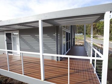 DecoDeck timber-look aluminium deck