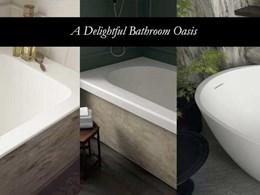 New Corian bathtubs delight with three models to match any interior