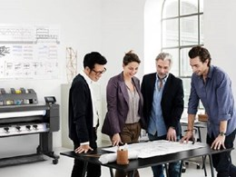 HP's 5 new DesignJet models simplifying large format printing for AEC professionals