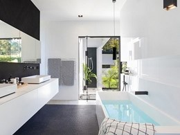 Geberit concealed cisterns meet minimalist design theme at Doonan Glasshouse, QLD