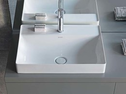 Stylish DuraSquare washbasins by Duravit from Bathe