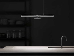 New collection of Cu-Beam LED suspended uplights and downlights from Dyson