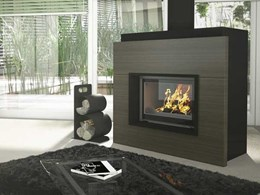 High-end European designs from Sculpt Fireplace Collection