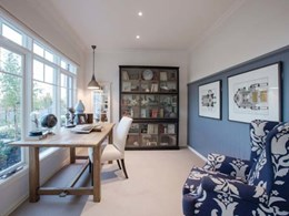 Display home at Waldorf 49 project features Easycraft wall panelling