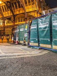 Echo Barrier temporary acoustic barriers for construction sites address night time noise