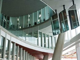 EDGE supplies internal balustrades and ventilation louvres at new Flinders Uni building