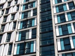 MAX double glazed frames selected for external glazing at Victoria University student accommodation