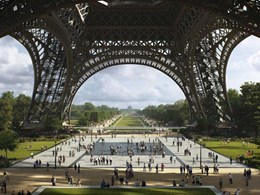 London studio wins Eiffel Tower park redesign competition