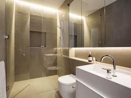 Boutique apartments in South Yarra fitted with custom solid surface basins